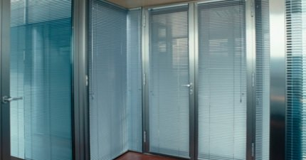 Persianas de aluminio - Malla de protección
