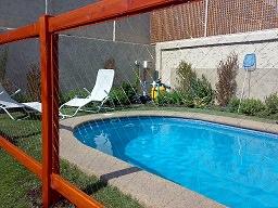 Rejas para piscinas - Malla de protección